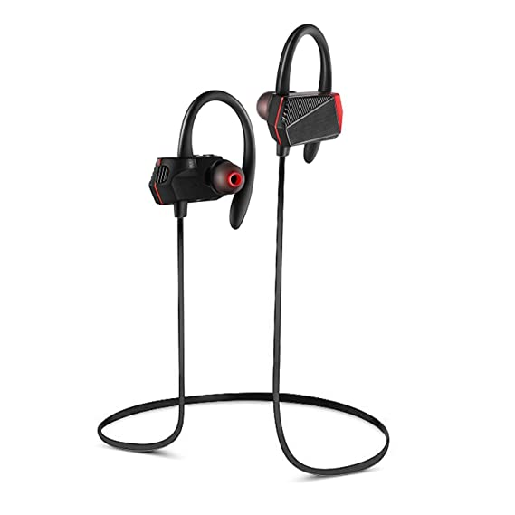 Wireless V4.1 Bluetooth Headphones Hifi Super Bass Stereo Sports Headsets In-Ear with