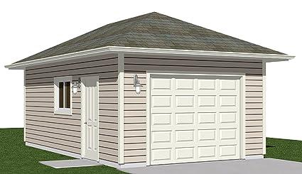 Amazon.com: Garage Plans : 1 Car Hipped Roof Plan - 336-2- 14' x 24 on 22x26 garage plans, 20x25 garage plans, 14x28 garage plans, 12x16 garage plans, 12x20 garage plans, 18x30 garage plans, 16x22 garage plans, 10x20 garage plans, 16x32 garage plans, 12x28 garage plans, 20x32 garage plans, 20x21 garage plans, 12x24 garage plans, 16x30 garage plans, 20x22 garage plans, 12x12 garage plans, 12x30 garage plans, 18x20 garage plans, 14x20 garage plans, 22x28 garage plans,