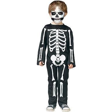 467b5963ea54 Amazon.com  Fun World Scary Skeleton Toddler Costume-  Toys   Games