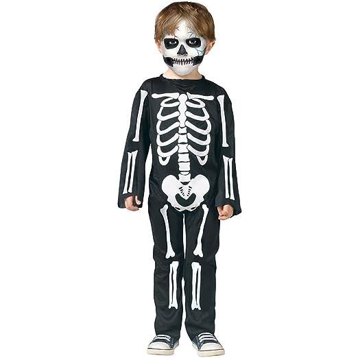 scary skeleton toddler costume