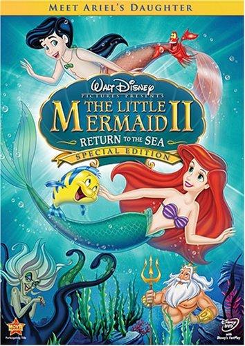 The Little Mermaid Ariel's Beginning / The Little Mermaid 2 - Return to the Sea (2 Movies Blu-Ray)