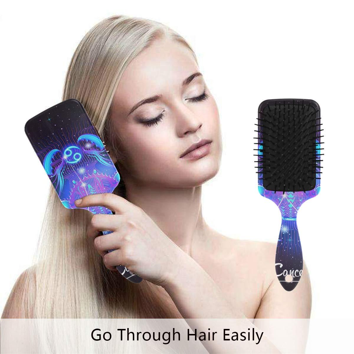 Amazon Com Constellation Zodiac Sign Cancer Hair Brush Scalp