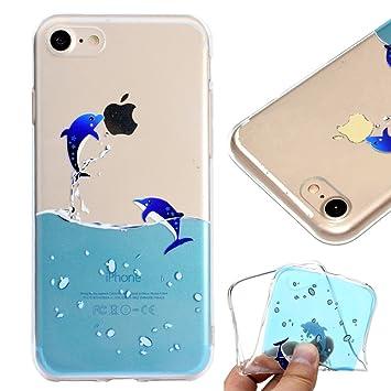 coque iphone 8 dauphin