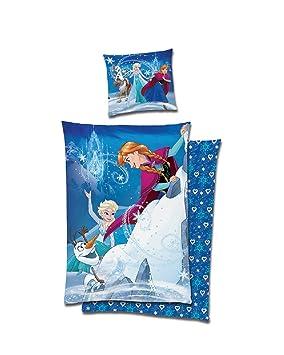La Reine Des Neiges De Disney Frozen Parure De Lit En Flanelle De