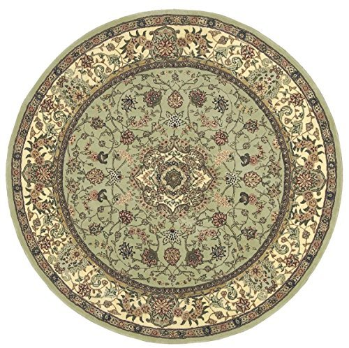 Nourison Traditional 2005 Round Area Rug 6' X 6'/Olive/Round