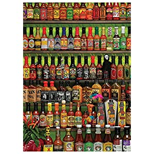 Cobblehill 80063 1000 Pc Hot Salsa Di Puzzle Vari