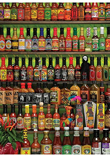 Outset Hot Hot Sauce 1000 Piece Cobble Hill Puzzle Standard by Outset