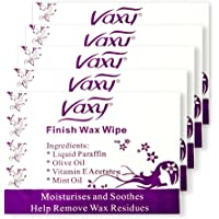 Vaxy - Salviette per il corpo post-ceretta depilatoria, per pelli normali e sensibili