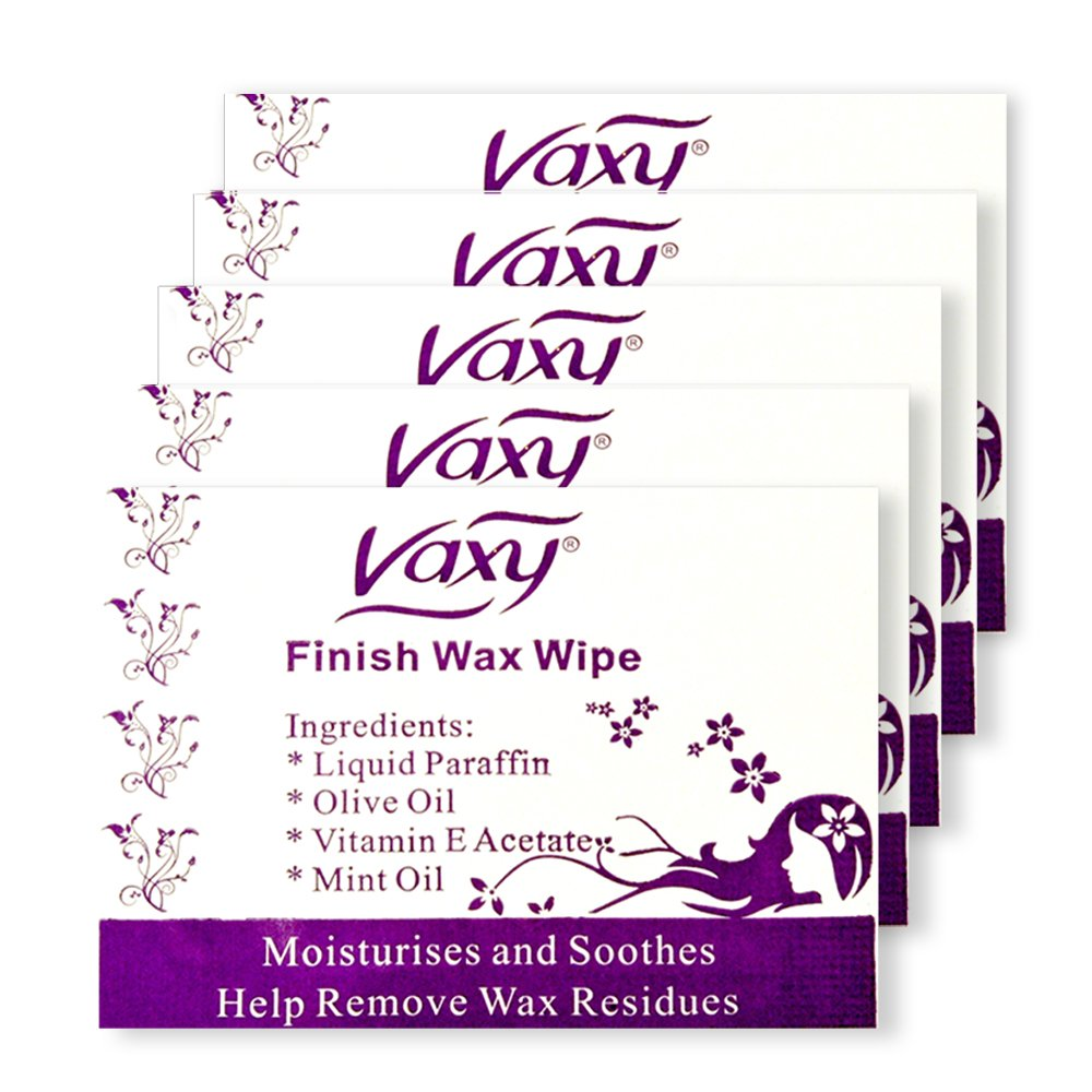 After Waxing Wipes, Body Waxing Post Wax treatment, Hair removal (20) Vaxy