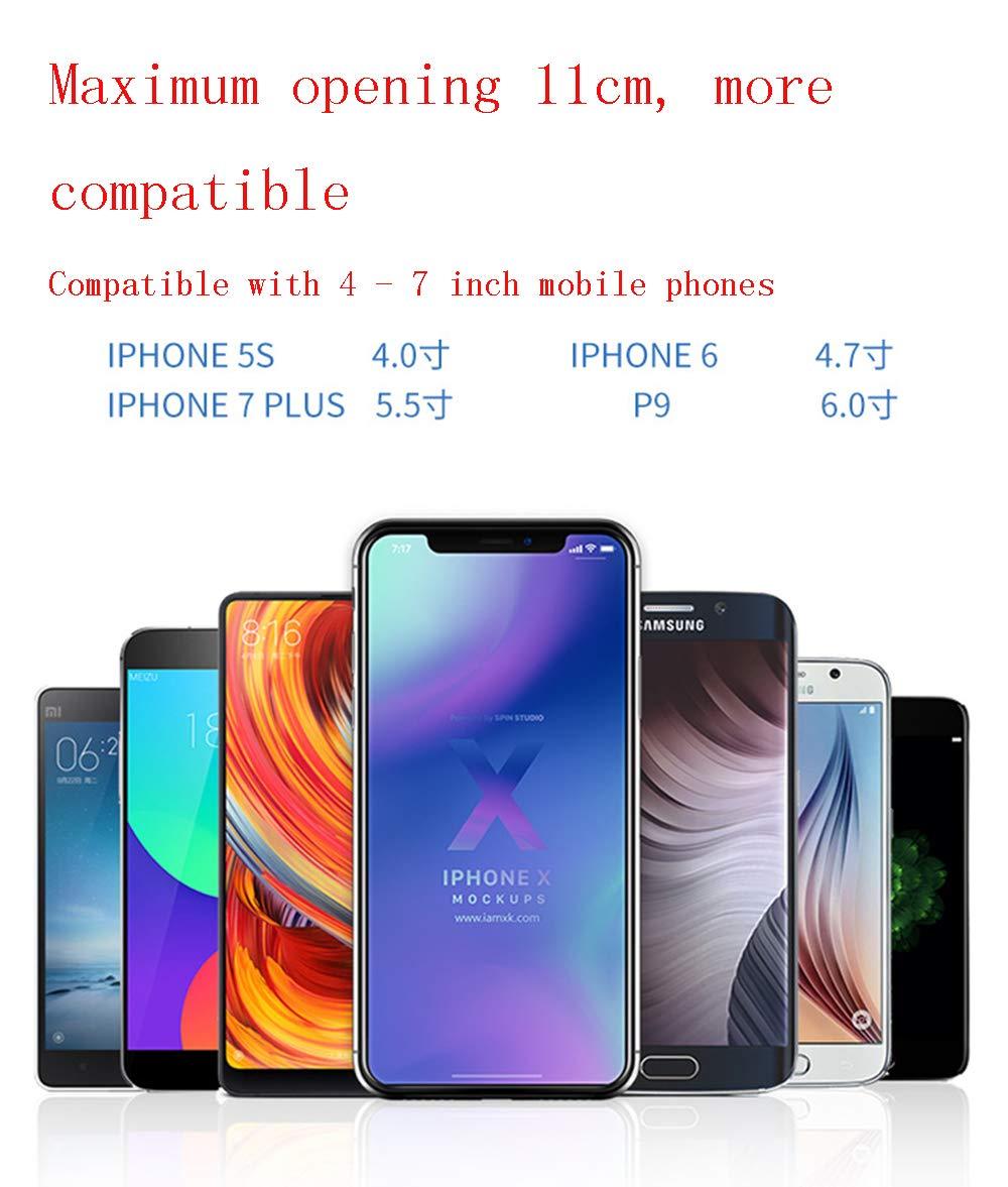 ZDGM Soporte Móvil Coche, Soporte Smartphone para Tablero de ...