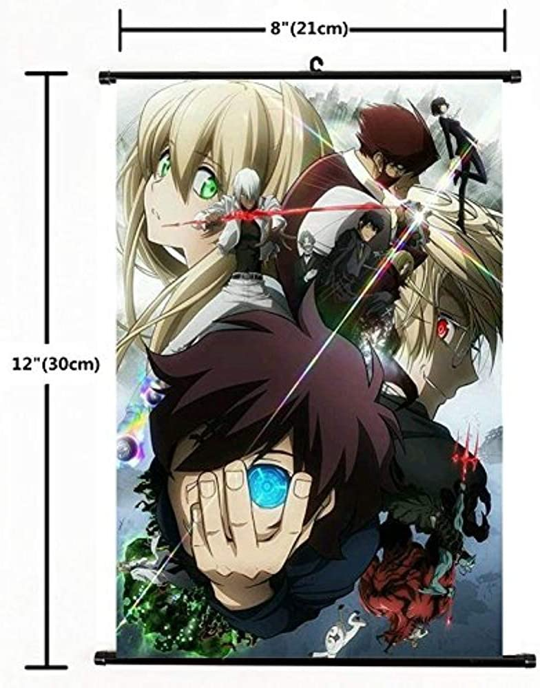 Kekkai Sensen Blood Blockade Battlefront Anime Manga Wall Poster Scroll40*60cm3