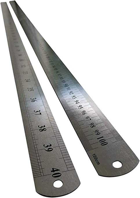 Lot de 10-Magnétique règle//ruban à mesurer 36/' pouces//100 cm
