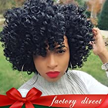 Aliglossy hair Mongolian afro kinky curly hair 3pcs weave bundles deals 8 to 22 inches 100% human hair extensions Unprocessed virgin hair (8 8 8)