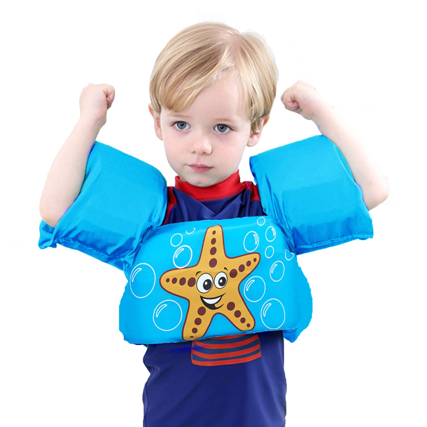 Baby Kid Girl Swimming Ring Arm Bands Pool Float Inflatable Sleeve Safety Aids