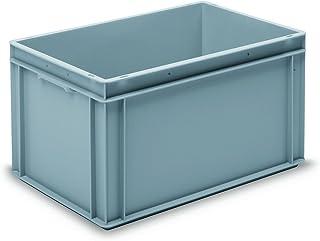 GCIP-RAKO GC604032P Container, Rako, PP, 600 mm x 400 mm x 325 mm, Grey