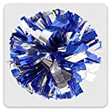 BCLAND 13'' Cheering Squad Spirited Fun Cheerleading Kit Cheer Poms Pack of 2(100g)