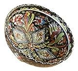 Handcrafted Turkish Salad Bowl, Black