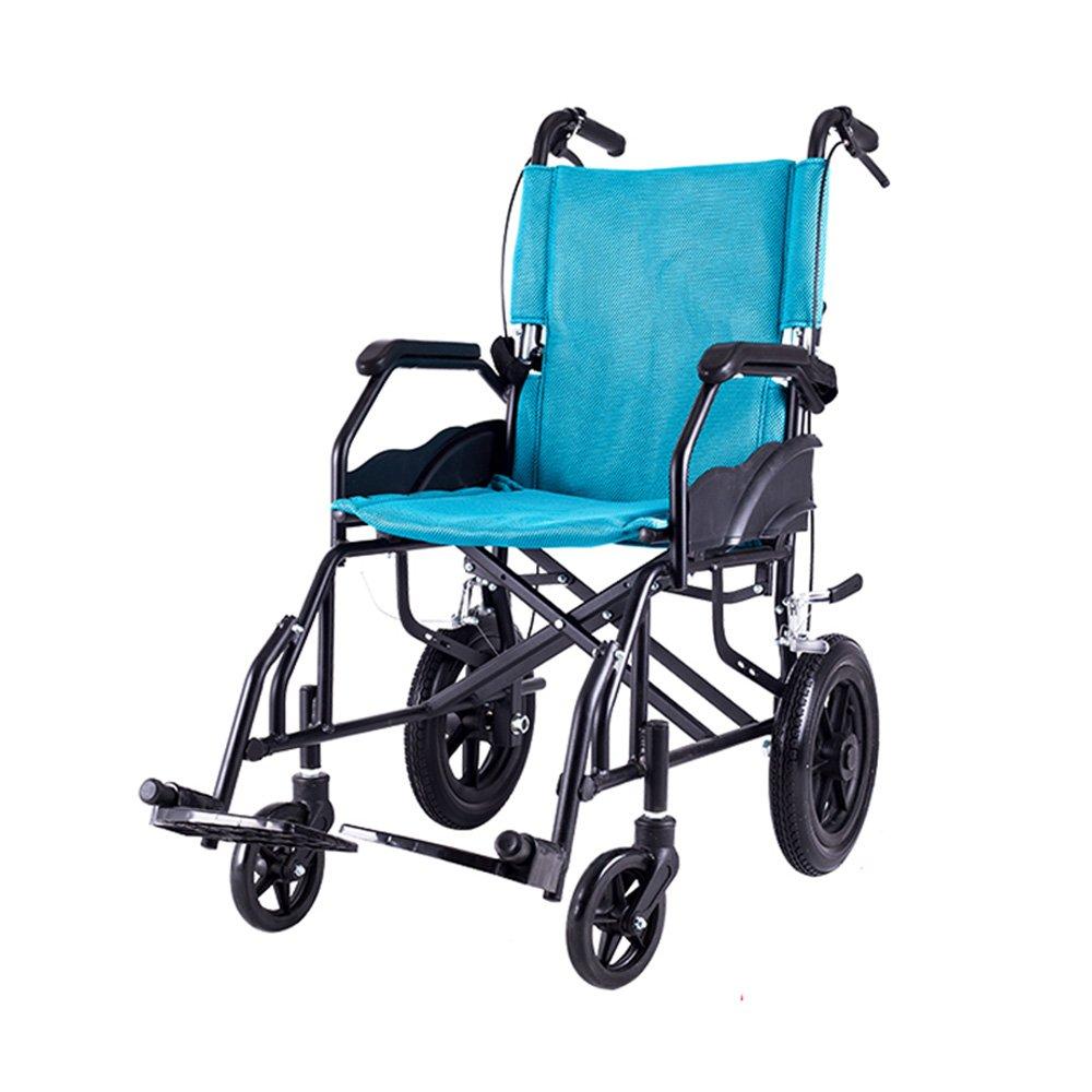 Amazon.com: lyyyl silla de ruedas Ligero Portátil Plegable ...
