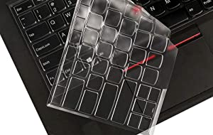 "Ultra Thin Clear Keyboard Protective Skin Cover for 14"" Lenovo Thinkpad X1 Carbon 2017/2018, ThinkPad X1 Yoga 2017/2018 Gen, 14"" ThinkPad A475 L460 L470 T460 T460p T460s T470 T470p T470s Laptop"