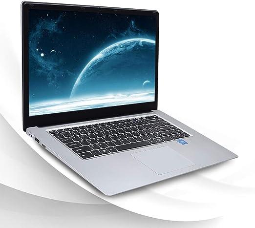 KUU Ordenador portátil Windows 10, Notebook 15.6 Pulgadas, Intel Celeron J3455 CPU de Cuatro núcleos, 1920x1080p HD ...