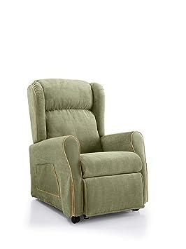 Orthomatic® – Sillón Relax 2 motores elevables modelo Azalea motorizada, asiento de espuma viscoelástica