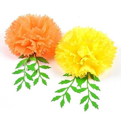 Amazon Day Of Dead Dia De Los Muertos Marigold Tissue Pom Pom