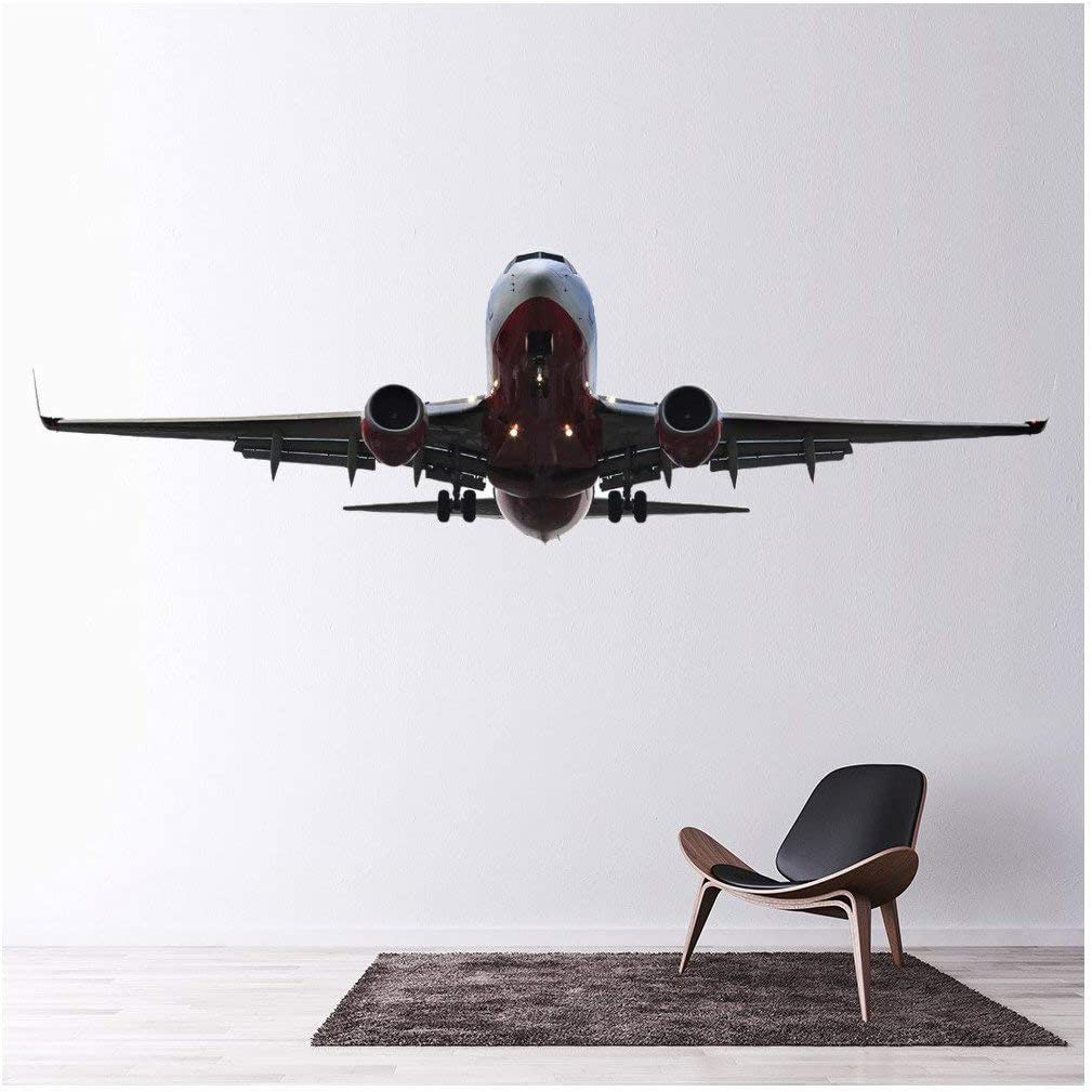 azutura Aviones Vinilos Avión de Aeroplano Pegatina Decorativos Pared Transporte Decoración del hogar Disponible en 8 Tamaños Pequeño Digital: Amazon.es: Hogar