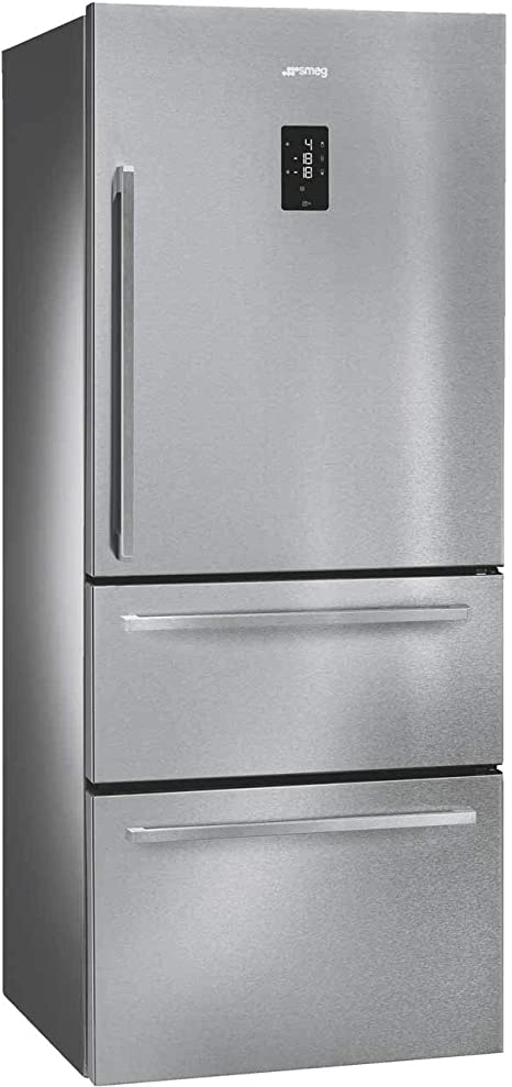Smeg FT41BXE Independiente 466L A+ Acero inoxidable nevera y ...