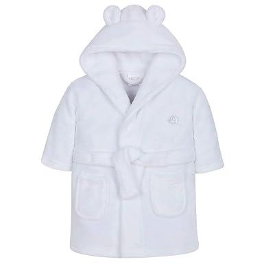 Bata para bebé niña de Lora Dora, con capucha, de polar