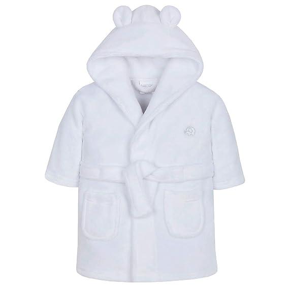 Lora Dora Bata de lana con capucha para bebé-niñas 0-6 Meses ...