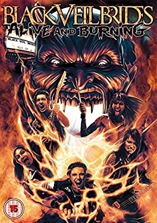 black veil brides alive and burning dvd 2015 amazon co uk andy