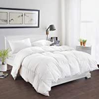 200GSM White Duck Down Feather Summer Weight Quilt/Duvet/Blanket (Double)