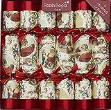 "6 X 12"" English Christmas Crackers From Robin Reed - Victorian Santa"