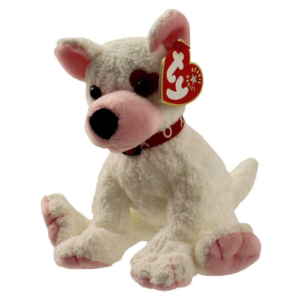 73c5518f906 Amazon.com  TY Beanie Baby - CUPID the Dog (6.5 inch) - MWMTs Stuffed  Animal Toy PRS  Toys   Games