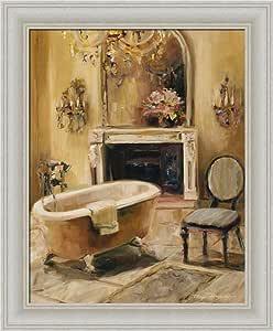 Amazon.com: French Bath I by Marilyn Hageman Bathroom Spa ...