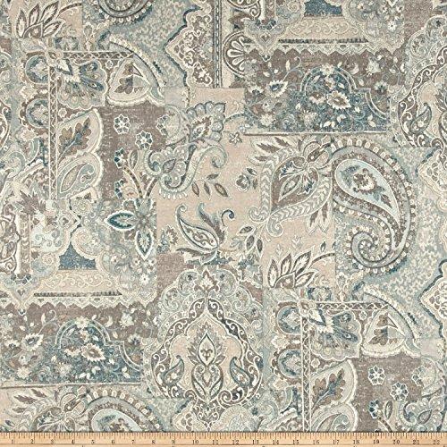 Waverly Historic Piece Flint Duck Fabric By The Yard (Medium Weight Upholstery Fabric)