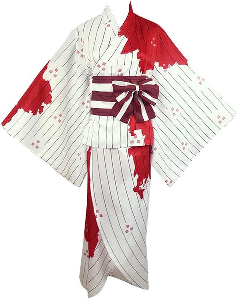 Freestyle Matching Demon Slayer Kimetsu no Yaiba Kimono Cosplay Kochou Shinobu Cosplay Costume