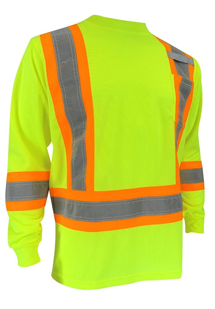 Jackfield Long Sleeve T-Shirt with Reflective Stripes