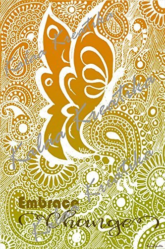 Amazon.com: Butterfly Wisdom Series - Embrace Change - Large Poster ...