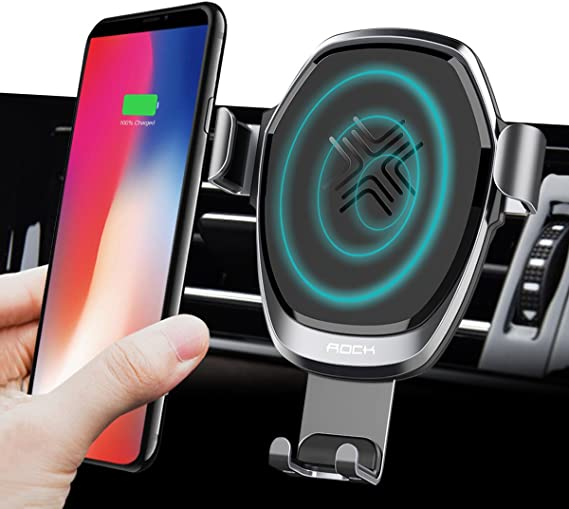 Wireless Car Charger Samsung Galaxy S8Edge Car Holder Standard Wireless Charging for Pad Stand for iphone Xs Note 5