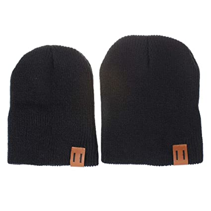 bd61a8b9f Amazon.com | 2 Pack Winter Warm Parent-Child Hat Mother & Baby ...