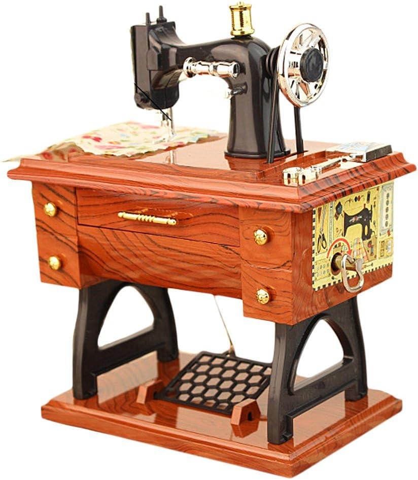 Pedal de máquina de Coser de Estilo Caja Musical Mini Hecho a Mano ...