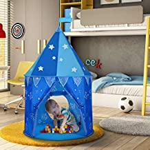 Wolfwise Upgraded Prince Castle Play Tent Boys Outdoor Tent Indoor Play House