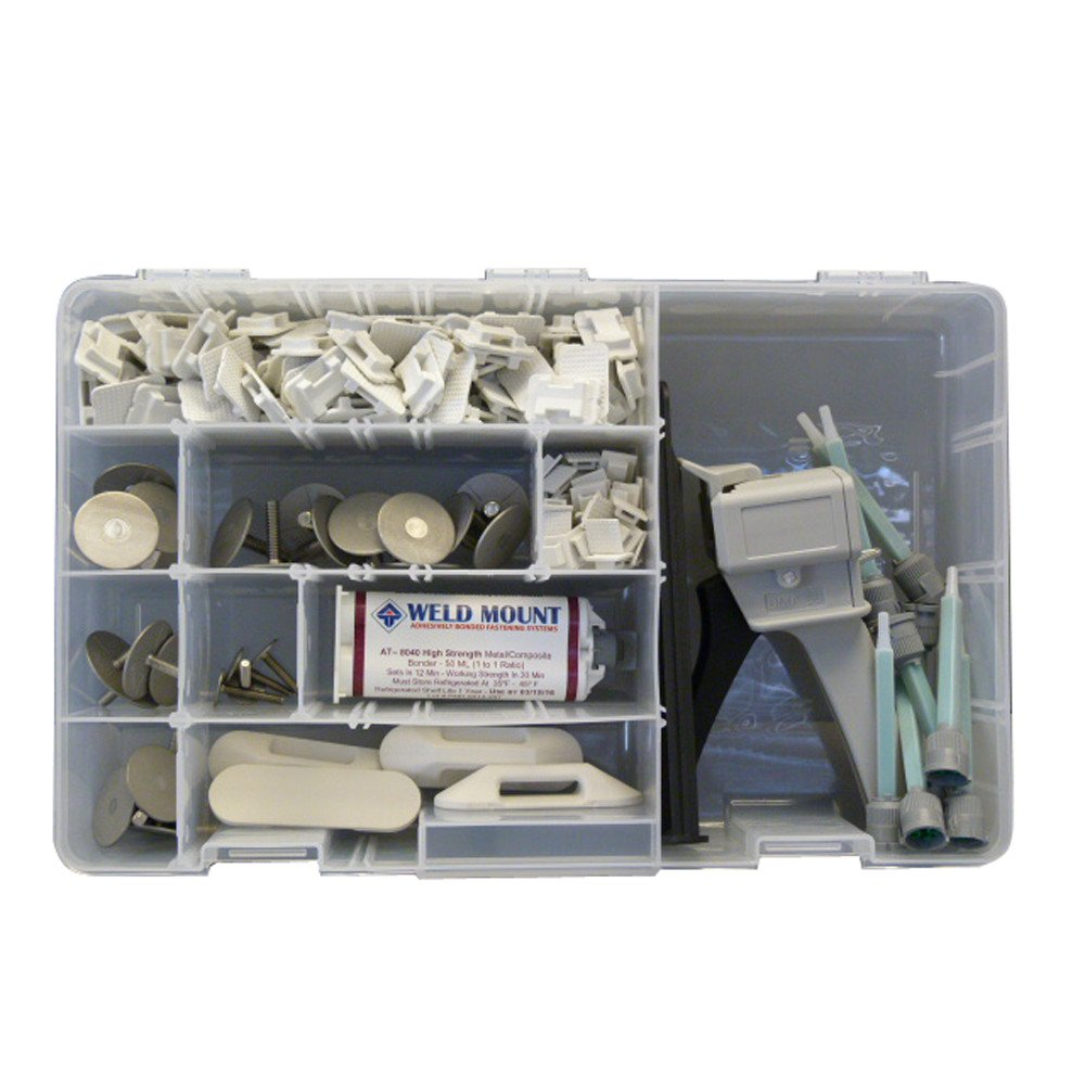 Weld Mount Executive Adhesive & Fastener Kit w/AT-8040 Adhesive