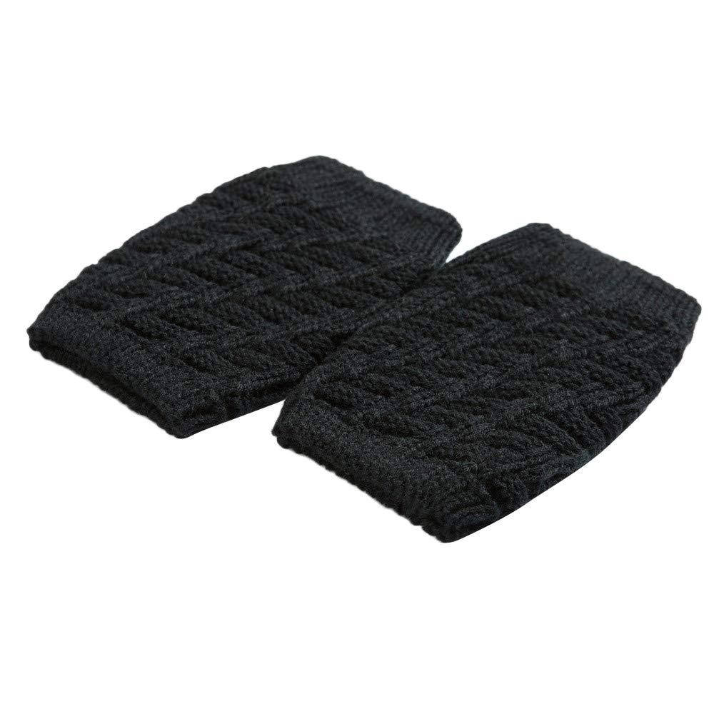 iYBUIA Young Girls Winter Warm Knit Leg Warmers Crochet Leggings Slouch Boot Socks at Amazon Womens Clothing store: