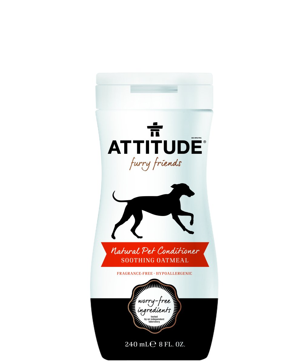 Attitude Pet Conditioner Soothing Oatmeal 8 fl oz
