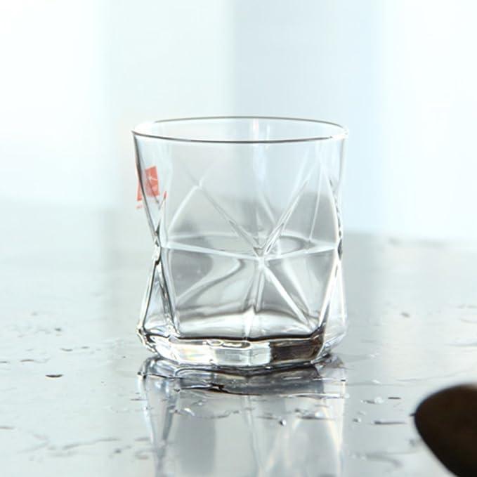 Gran dispensador vientre jarra de vino enfriador de vidrio jarra de agua jarra de leche jugo de agua fría bebida creativa botella gran capacidad hervidor -B ...