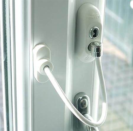 Max6mum Security Window and Door Restrictor for Baby and Child Safety - White & Max6mum Security Window and Door Restrictor for Baby and Child ...