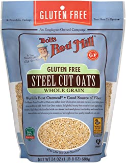 product image for Bob's Red Mill, Steel Cut Whole Grain Oats, 24 Oz