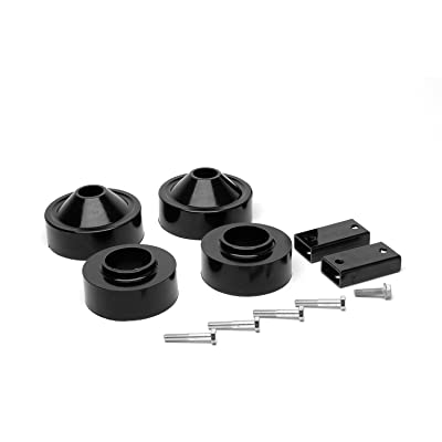 "Daystar, Jeep JK Wrangler 1.75"" Lift Kit, fits 2007 to 2020 2/4WD, all transmissions, KJ09137BK, Made in America,Black: Automotive"